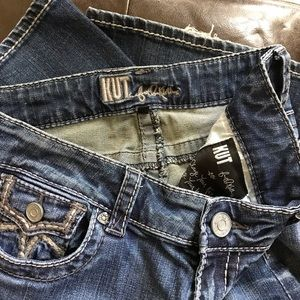 Flap Pocket Jeans Kut From the Kluth Boot Cut